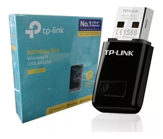 Adaptador Wireless Usb Tp-link Mini Wn-823n 300mbps