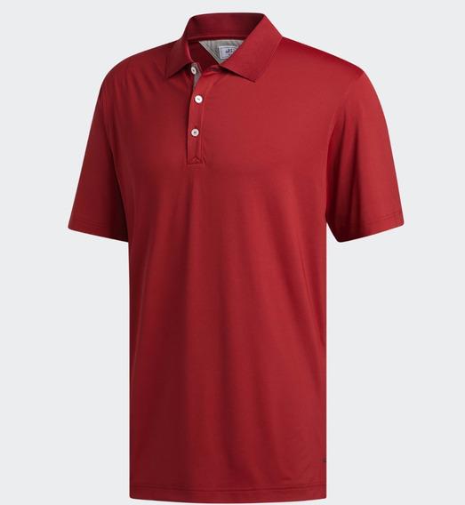 Playera Polo adidas Adipure (talla L) 100% Original Camisa V
