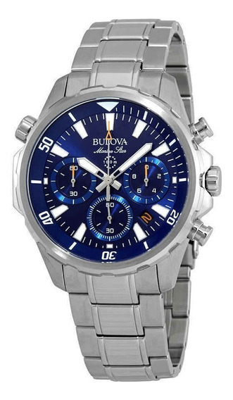 Relogio Bulova Marine Star Chronograph Blue Men
