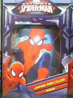 Lampara De Colgar Spiderman