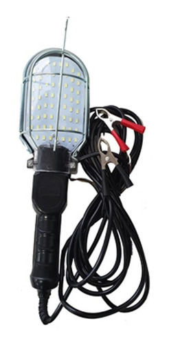 Lampara Luz Portatil Bateria 12v 60 Led Pinzas Bateria