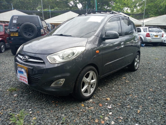 Hyundai I10 Gl Motor 1.1 2012 Gris Carbon 5 Puertas