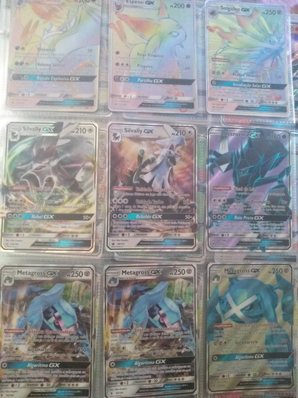 Lote 1000 Cartas Pokemon + 3 Gx