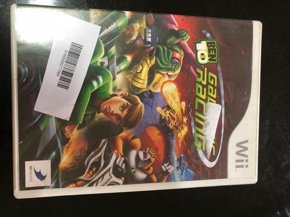 Jogo Wii Ben 10 Galactic Racing Original Compatível C/ Wii U