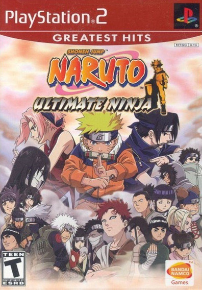 Jogo Naruto Ultimate Ninja 1 Ps2 Original Game Completo