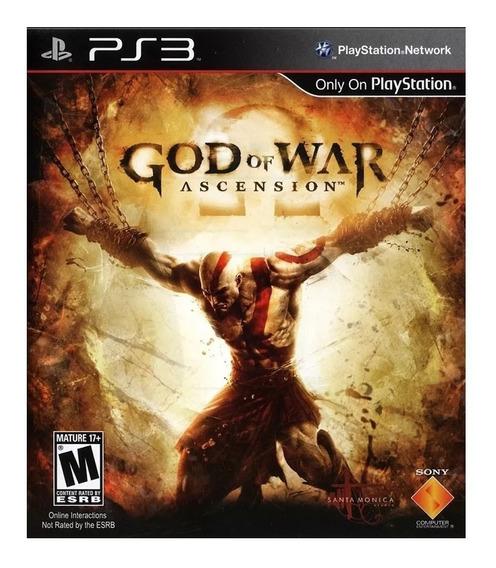 God Of War Ascension Original Mídia Digital Envio Imediato!