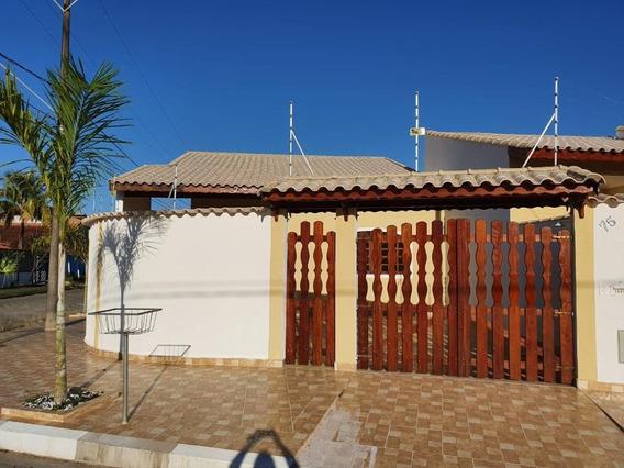 Casa Em Bopiranga, Itanhaém/sp De 102m² 2 Quartos À Venda Por R$ 265.000,00 - Ca585962