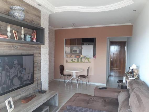 Apartamento Com 3 Dormitórios À Venda, 74 M² Por R$ 400.000 - Quitaúna - Osasco/sp - Ap1008