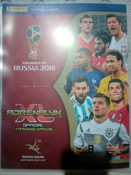 Super Coleção Cards Adrenalyn Copa Rússia 2018