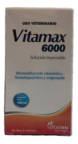 Vitamax 6000 Inyectable 100ml Biochem