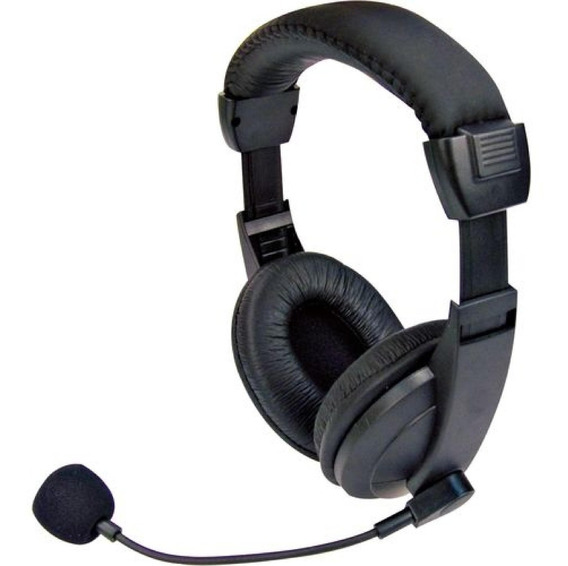 Headset Voicer Confort Mi-2260 Preto C3 Tech
