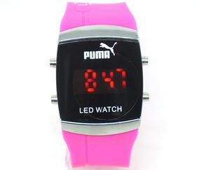 Relógio Puma Led Watch Rosa