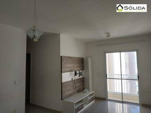 Apartamento Com 3 Dormitórios À Venda, 75 M² Por R$ 450.000,00 - Jardim Bonfiglioli - Jundiaí/sp - Ap0976