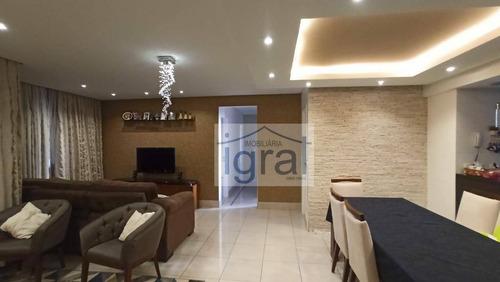 Apartamento Com 4 Dormitórios À Venda, 108 M² Por R$ 1.000.060,00 - Vila Guarani (zona Sul) - São Paulo/sp - Ap1195