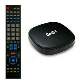 Control Remoto Para Convertidor A Smart Tv Box De Ghia