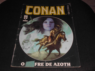 Hq Conan Em Cores Nº 10 - Ed. Abril - 1991