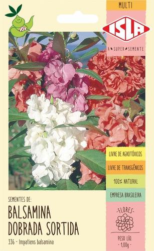 Sementes De Balsamina Dobrada Sortida Flor