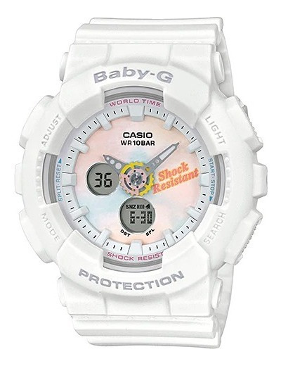 Reloj Casio Outlet Baby-g Life And Style Ba-120t-7acr