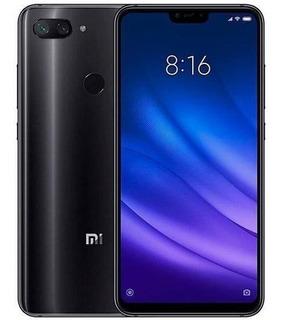 Celular Xiaomi Mi 8 Lite Preto 64gb Global Lacrado