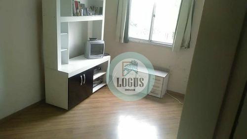 Imagem 1 de 17 de Apartamento Com 2 Dormitórios À Venda, 47 M² Por R$ 235.000,00 - Assunção - São Bernardo Do Campo/sp - Ap1589