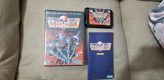 Truxton Original Japonês Completo Sega Mega Drive.