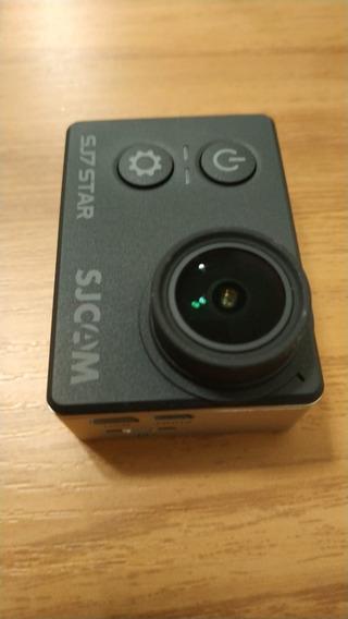 Sjcam Sj7 Star (gopro) Câmera Ação/esportiva 4k Lcd 1 - Usada