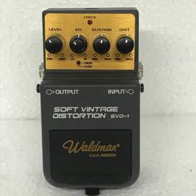 Pedal Waldman Vintage Distortion Svd 1 - Usado!!