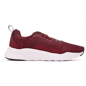 Tenis Puma Wired Jr Vino Original Hombre 366901 06