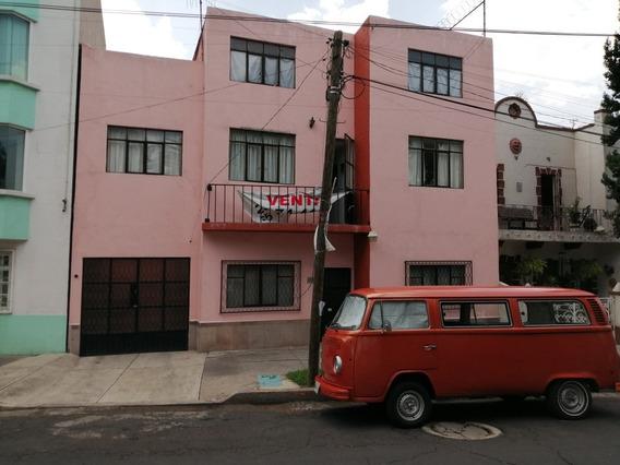 Casa 133 M2 6 Recamaras 2 Baños 2 Autos Col Gpe Tepeyac