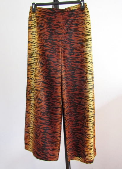 Victoria´s Secret Pantalon De Pijama Estampado Tigre Talla L