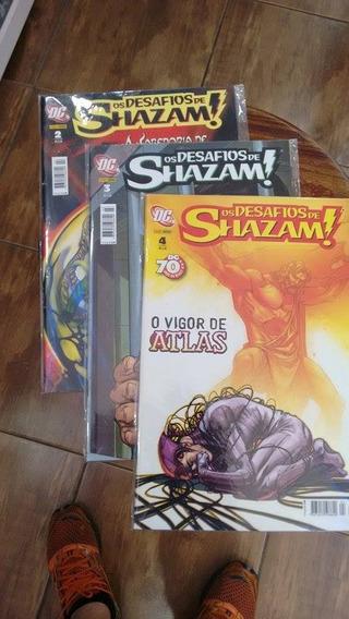 Os Desafios De Shazam! Editora Panini Vários Números