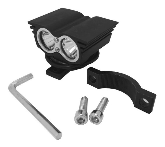 Faro Cree Led Triple Funcion Alta/ Baja/ Flash Manillar X Un