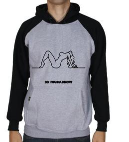 Casaco Moletom Arctic Monkeys Blusa Moleton Unisex Body 65