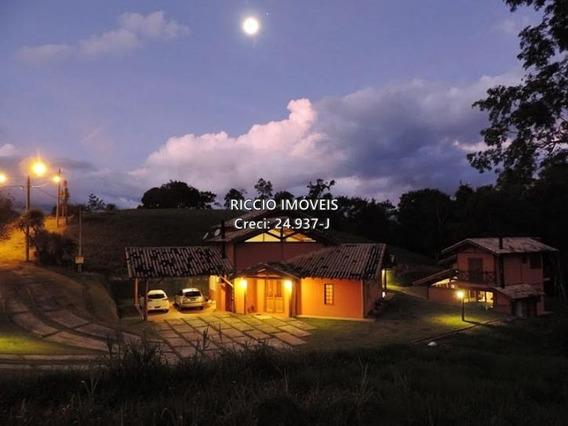 Linda Casa No Condomínio Residencial Ecológico Parque Da Mantiqueira Em Santo Antonio Do Pinhal. - Ca1108