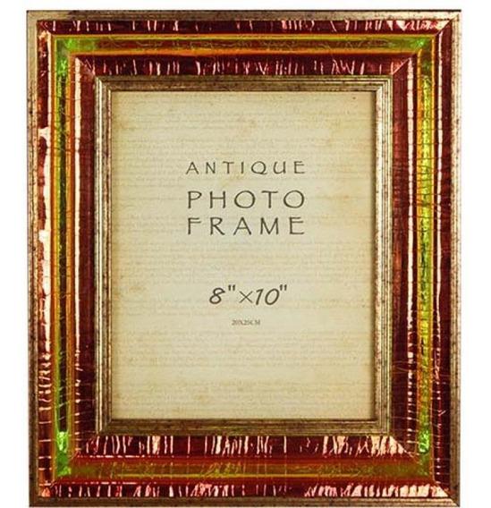 Porta Retrato Dourado Brilho Escuro 20x25 Goodsbr 36x31x4cm