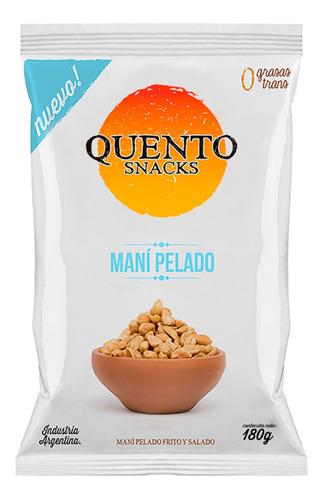 Mani Pelado Salado Y Frito Quento Snacks 0 Grasas Trans
