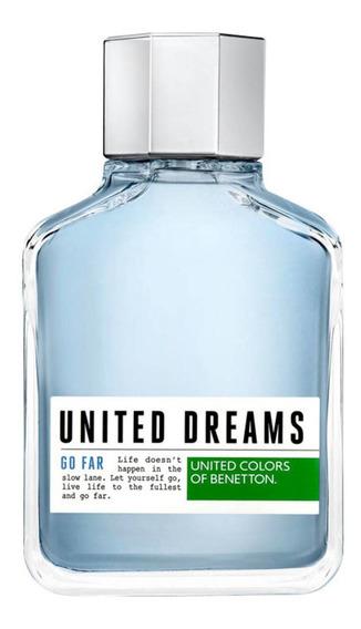 Benetton Perfume Masculino United Dreams Go Far 200ml Blz