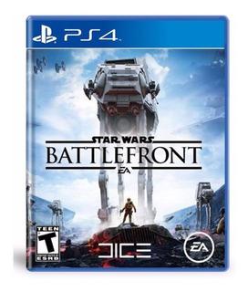 Star Wars Battlefront Para Ps4 Disco Fisico Nuevo Sellado