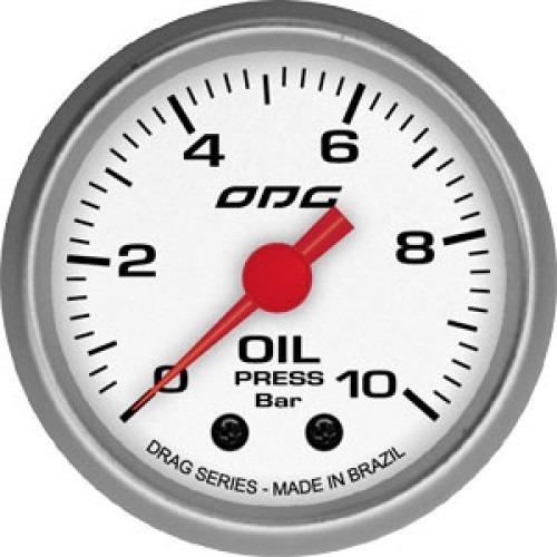 Manômetro Oil Drag -10 Bar 52 Mm