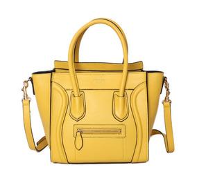 Bolsa Paris Média Luggage Tote Amarela C/caixa E Cards