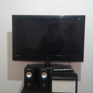 Tv Lcd 32 Tcl - Excelente Estado + Parlantes De Regalo!