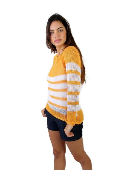 Sweaters Rayado De Hilo