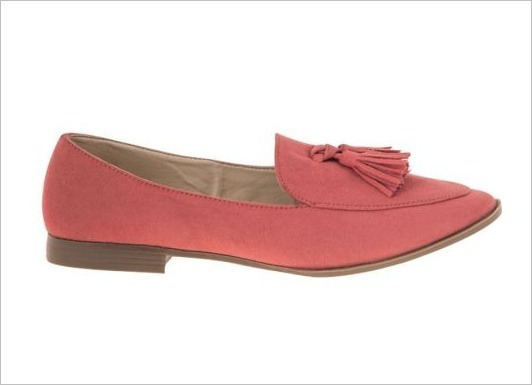 Balerina Casual Para Dama Pink Coral 832109 Vesc 19-20 H