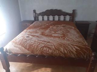 Juego De Dormitorio Completo, De Algarrobo Modelo Nube