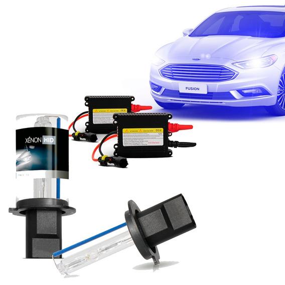 Kit Xênon H4-2 12000k Azul Escuro Automotivo
