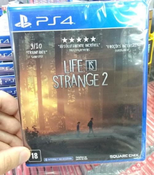 Life Is Strange 2 Ps4 Mídia Física Novo Pronta Entrega