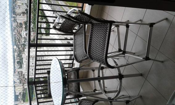 Mesa Bistro Com 4 Cadeiras