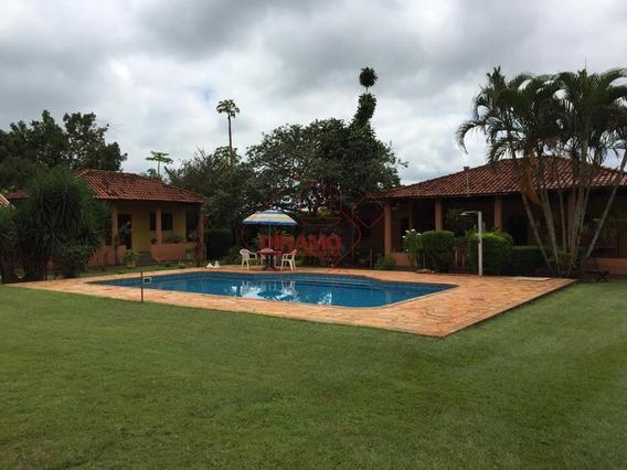 Chácara À Venda, Recreio São Sebastião - Jardinópolis. - Ch0044