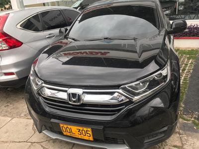 Honda Crv City Plus 2017 Negro Aut
