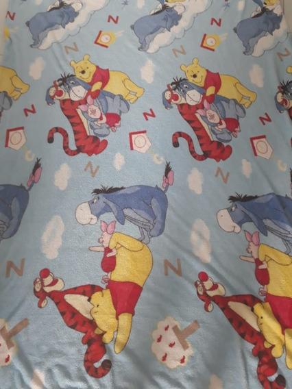 Kit 5 Manta Cobertor Infantil Personagens Herois E Princesas